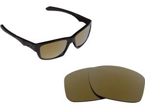 New SEEK Replacement Lenses for Oakley JUPITER SQUARED 24K Gold Mirror - ON SALE