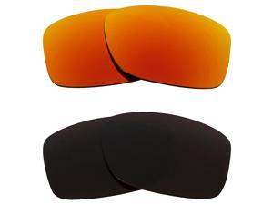 New SEEK Replacement Lenses for Oakley JUPITER SQUARED Brown Yellow Mirror SALE