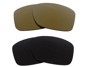New SEEK Replacement Lenses for Oakley JUPITER SQUARED Grey Gold Mirror  ON SALE