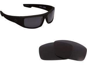 New SEEK Polarized Replacement Lenses Spy Optics LOGAN Black Mirror