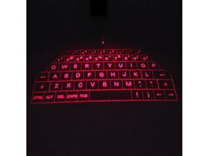 Full Size Wireless Bluetooth Virtual Laser Projection Keyboard English Ultra Portable Mini Keyboard