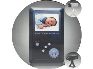 2.4GHz Wireless Video Baby Monitor Surveillance Camera Night Vision Receiver
