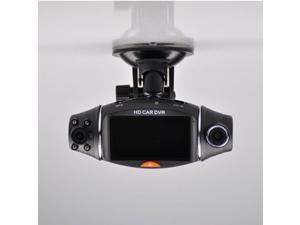 Hd Dual Lens Car DVR Car Camera 2.7inch LCD Screen Vehicle Video Recorder GPS G-Sensor 32G TF Dash Cam Loop Recording Video Encrypt Microphone