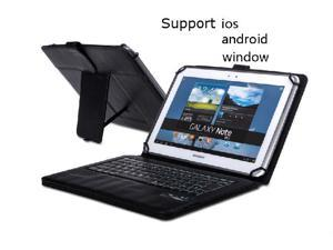 2 in 1 Universal Detachable Wireless Bluetooth Keyboard + Case For Samsung Galaxy Tab 2 10.1 P5100  + Pen