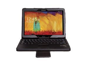 Wireless Bluetooth  Keyboard  Touchpad Case Cover & Screen Protector & Stylus For Samsung Galaxy Note 10.1 2014 Edition P600