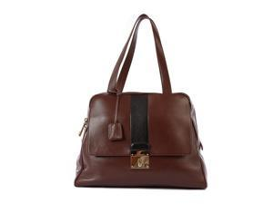 Marc Jacobs women's leather shoulder bag original charlye brown