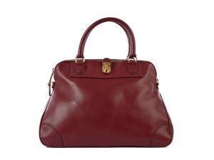 Marc Jacobs women's leather handbag shopping bag purse whitney bordeaux