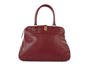 Marc Jacobs women's leather shoulder bag original tribeca bordeaux
