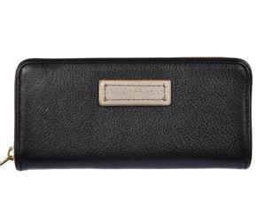 Marc by Marc Jacobs women's wallet leather coin case holder purse card bifold black