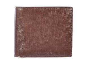 Michael Kors men's genuine leather wallet credit card bifold brown