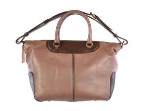Tod's women's leather shoulder bag original brown