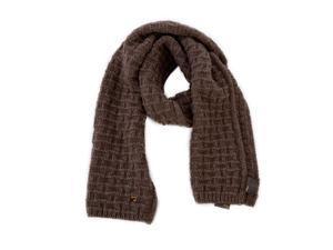 Fendi women's wool scarf  brown