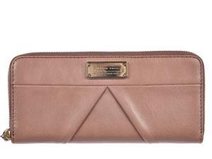 Marc by Marc Jacobs women's wallet leather coin case holder purse card bifold woodland pink