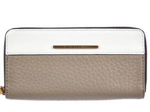 Marc by Marc Jacobs women's wallet leather coin case holder purse card bifold star beige