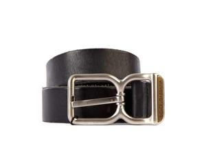 DOLCE&GABBANA men's genuine leather belt black