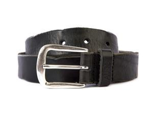 Armani Jeans men's genuine leather belt black