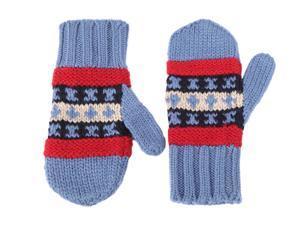Moncler men's wool gloves  blu