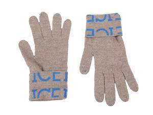 Iceberg men's wool gloves  beige