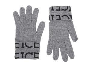 Iceberg men's wool gloves  grey
