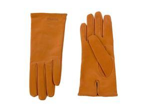 Prada women's leather gloves  brown