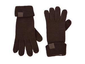Guess men's gloves  brown