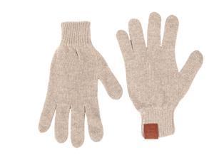 Calvin Klein men's wool gloves  beige