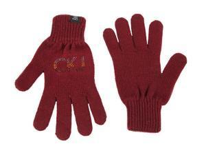 Calvin Klein women's wool gloves  bordeaux