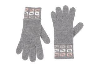 Fendi women's wool gloves  grey