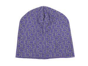 Iceberg men's wool beanie hat purple