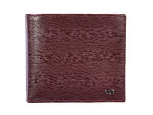 Valentino Garavani men's genuine leather wallet credit card bifold purple