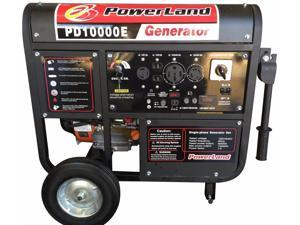 POWERLAND PD10000E 10000 Watt Portable Gas Generator 16 HP with Electric Start