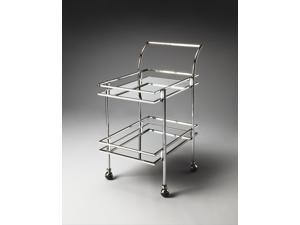 Nickel Gatsby Bar Cart Butler Loft - 3139220