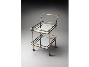 Butler Specialty Nickel Gatsby Bar Cart Butler Loft - 3139226 3139226