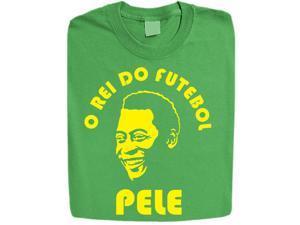 """Stabilitees Printed """"O Rei Do Futebol Pele"""" Design Mens T Shirts"""
