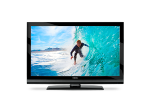 NEC Display Solution E551 Black 55'' 1920x1080 Full HD 120Hz LCD Monitor w/Analog/Digital Tuner, Speakers 450 cd/m2, 4000:1