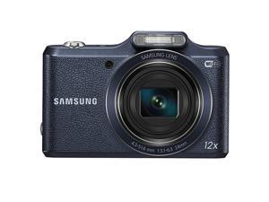 SAMSUNG EC-WB50FZBPBUS Black 16.2 Megapixel 12X Optical Zoom Smart Digital Camera
