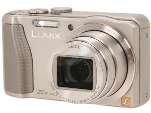 Panasonic LUMIX DMC-ZS25S Silver 16.1 MP 20X Optical Zoom Digital Camera HDTV Output