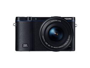 Samsung NX3300 Interchangeable Lens Camera with 20-50mm Power Zoom Lens and Flash - Black