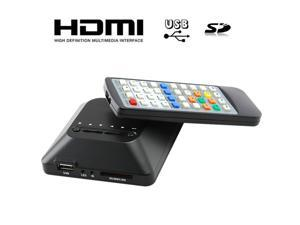 TeKit 1080P HD Android TV Box USB HDMI SD/MMC Multi TV Media Player can connect to TV and play all kinds of media videos.