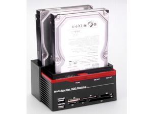 "Tekie Dual/Double 2.5""/3.5"" IDE/SATA HDD Dock/docking Station External Hard Disk Drive"