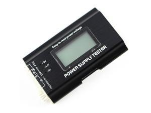 Tekit PC LCD Power Supply Tester 20/24 pin 4 SATA HDD Testers