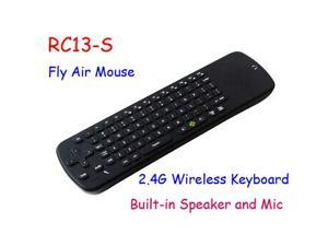 TeKit RC13 2.4G Wireless Keyboard Air Fly Mouse Built-in Mic Speaker Remote Control For Android TV Box