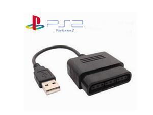 TeKit PS2 to PS3 Playstation Controller Adapter USB Converter,PS2 to PS3 PC Game Controller Adaptor Adapter Converter for PlayStation 2 3