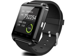 "TeKit NTRAC1001R Bluetooth Smart Wrist Watch with 1.48"" Touchscreen - Black"