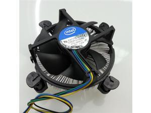Genuine Intel CPU Cooler HeatSink and Fan Support Socket 1155 1156 Processor up to i3 i5 i7(77W)4 Pin Connector ,Intel Pentium i3 i5 i7 CPU Cooler Fan & Heatsink LGA 1155 1156
