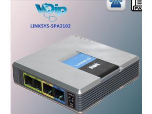 Linksys SPA2102 VOIP Router Voice Adapter,VoIP Gateway Voice Adapter Phone Router