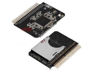 """NEW SD/Micro SD Memory Card to 2.5  44pin IDE Adapter Reader For Laptop ,SD to 2.5""""IDE adapter"""
