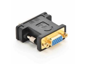 DVI to VGA converter Adapter ,DVI (24+5)male to VGA female converter adapter