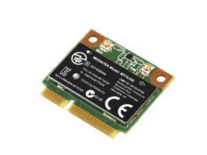 Wireless wifi card Mediatek MT7630E 802.11b/g/n Wi-Fi and Mediatek Bluetooth 4.0 WLAN adapter Half Mini PCI-E card FOR HP