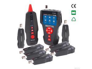 NEW NOYAFA-NF-8601W Network Cable Tester Tester LAN RJ11 RJ45 BNC STP/UTP 5E,6E LAN Cable Tester FOR 8 pc ports English version